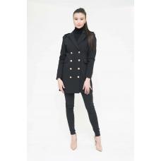 Пиджак премиум-класса черный Aydana Omarova Couture (20102)