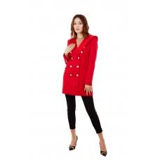 Пиджак премиум-класса красный Aydana Omarova Couture (20100)
