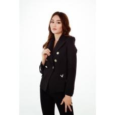 Пиджак премиум-класса черный Aydana Omarova Couture (6112)