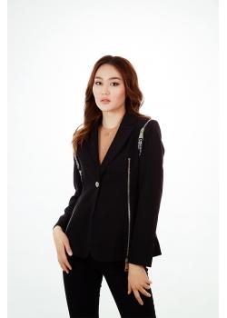 Пиджак премиум-класса черный Aydana Omarova Couture (50029)